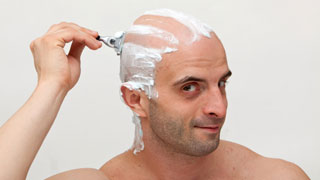 Shaving after scalp micropigmentation