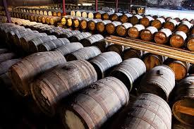 whisky maturing