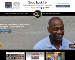 Good Look Ink website
